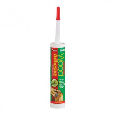 Everbuild Polyurethane Wood Adhesive 5 Minute Gel 310mm Cartridge Translucent