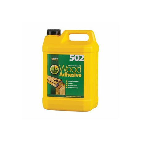 "Everbuild ""502"" Wood Adhesive All Purpose Weatherproof 250ml"