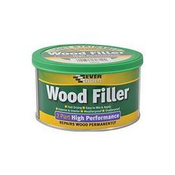 Everbuild Mahogany 2 Part Wood Filler High Performance 1.4kg