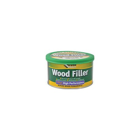 Everbuild Mahogany2Part Wood Filler High Performance - 1.4kg