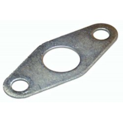 Escutcheon Plate To Suit Budget Locks Zinc Plated