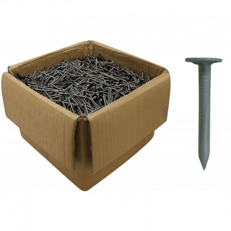 30mm Galvanised Clout Nails 2.65mm Gauge 25kg
