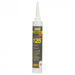 Soudal One Hour Caulk 380ml Cartridge Size White