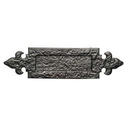 Kirkpatrick 1072 Black Antique Letter  Plate