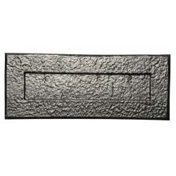 Kirkpatrick 1083 Black Antique Letter Plate