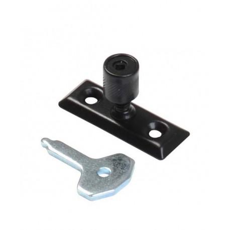 Kirkpatrick 116 Black Antique Locking Pivot