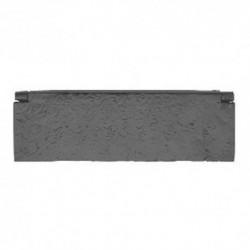 Trent Letter Plate Inner Tidy - Black Antique