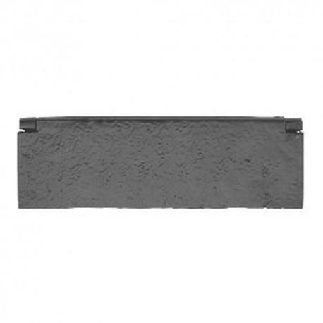 Trent Letter Plate Inner Tidy Black Antique