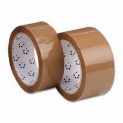 25mm x 66m Clear Polypropylene Tape