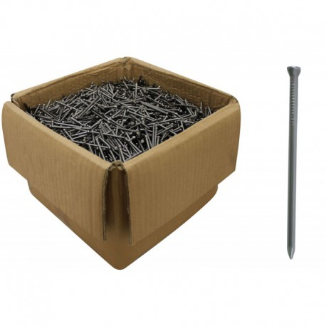 25mm Bright Steel Panel Pins 1.6mm Gauge - 25kg