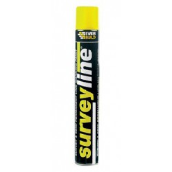 Everline Marking Paint Spray 700ml Yellow